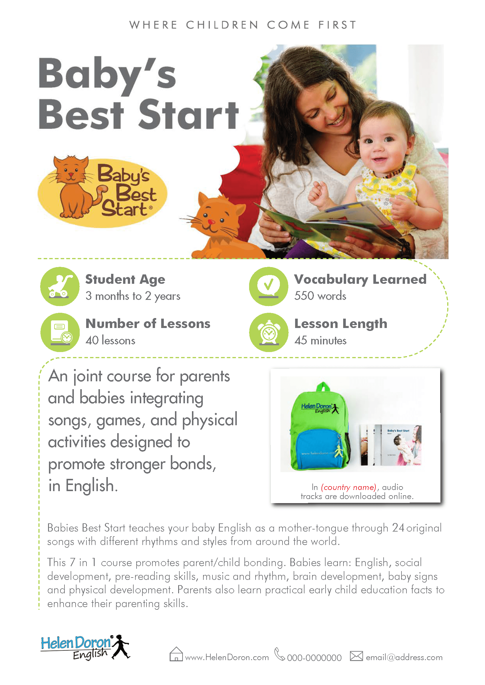 İndirin - Bebek için en iyi başlangıç (Baby's Best Start)