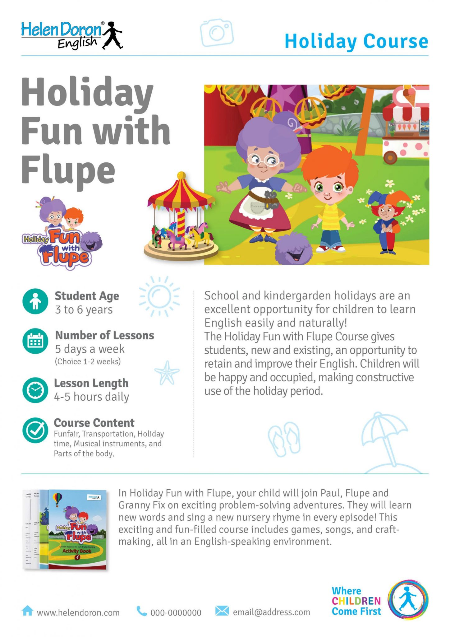 İndirin - Holiday Fun with Flupe