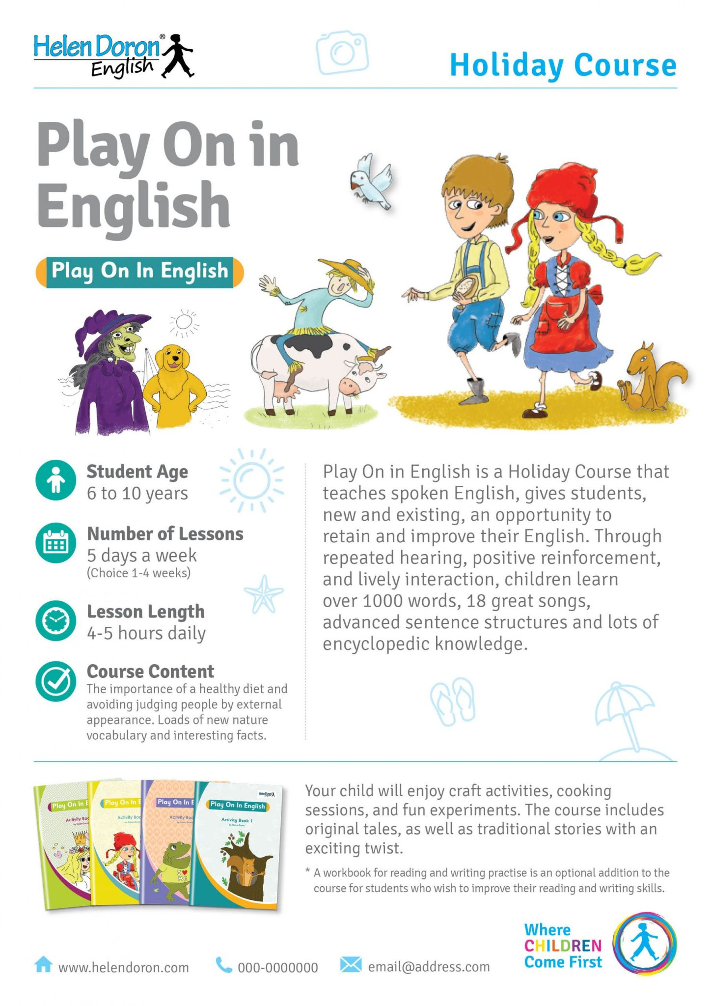 İndirin - Play On in English Holiday Course